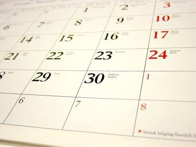 Kalendár akcií