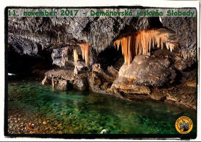 Zborový výlet do jaskyne na Liptove